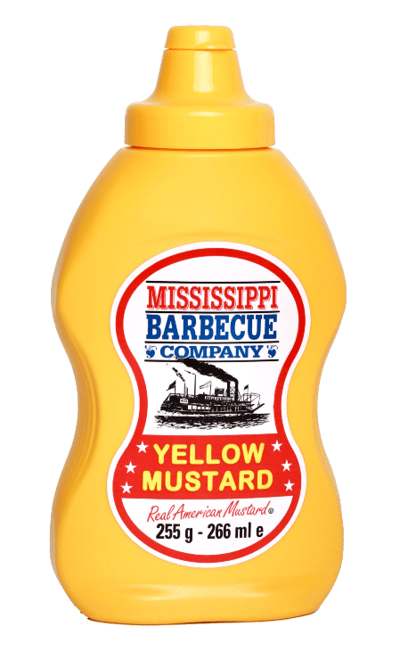 Mississippi BBQ Yellow Mustard HPpng